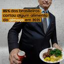 Sem almoço: 85% dos brasileiros cortou comida em 2021