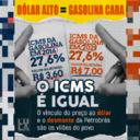 Política de Bolsonaro levou à disparada da gasolina