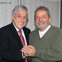 Lula e Piñera falam sobre América Latina e futebol