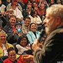 Na CUT, Lula diz que seu maior feito foi fazer trabalhador poder andar de cabeça erguida