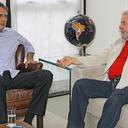 Camilo Santana, governador eleito do Ceará, visita Lula
