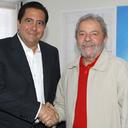 Lula se encontra com Martín Torrijos, ex-presidente do Panamá