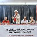 Lula participa de reunião com executiva da CUT em São Paulo
