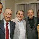 Lideranças do PCdoB conversam com Lula em São Paulo