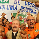 Lula conclama orgulho pela Petrobras em ato de movimentos sociais