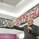 """""""Lei da terceirização tem um só ganhador, o patrão, e milhões de perdedores, os trabalhadores"""", diz Lula"""