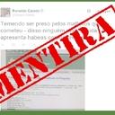 É falsa a notícia de que ex-presidente entrou com pedido de habeas corpus em Curitiba