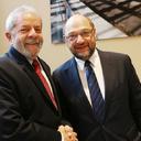 Lula se encontra com o presidente do Parlamento Europeu