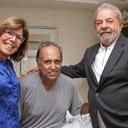 Lula visita Pezão no hospital