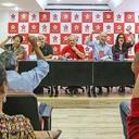 """Lula em reunião com o PT: """"Vou lutar pela democracia brasileira"""""""