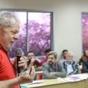 Lula participa de reunião da Frente Brasil Popular