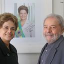 Dilma visita Lula em São Paulo