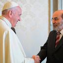 Graziano e papa conversam sobre desenvolvimento e segurança alimentar
