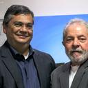 Lula recebe o governador Flávio Dino