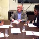Instituto recebe visita de dirigentes da Secretaria de Direitos Humanos e Cidadania da Prefeitura de São Paulo
