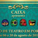 Cinco países africanos se apresentam em festival de teatro no Estado de São Paulo