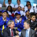 Presidente da Colômbia agradece apoio de Lula a processo de paz