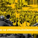 Memorial da Democracia completa 1 ano e recebe os parabéns na rede