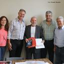 Lula recebe a visita de reitor de universidade argentina