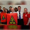 Jovens líderes metalúrgicos alemães visitam Instituto Lula