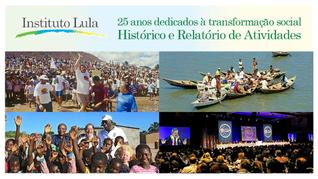 Nota: Instituto Lula tem histórico de 26 anos dedicados à transformação social