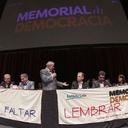 Em BH, lançamento do Memorial da Democracia celebra lutas e conquistas do povo brasileiro