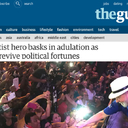 The Guardian reports on Lula's caravan throughout impoverished north-east