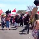 Sindicatos brasileños protestan contra ley de reforma laboral