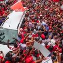 Relembre as multidões que seguiram #LulapeloBrasil