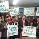 Todos pela Amazônia reúne 1,5 mi assinaturas