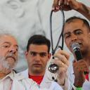 Médicos do MST cuidaram da saúde de Lula durante caravana