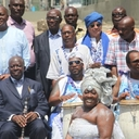 Rei Ashanti de Gana visita Cais do Valongo, no Rio
