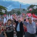 Ipatinga recebe 1º ato da caravana Lula por MG
