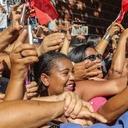 Caravana de Lula recorre la ciudad de Itinga en Minas Gerais