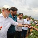 Montes Claros: visita a projeto de irrigação por gotejamento
