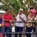 Caravana de Lula recorre Bocaiúva en Minas de Gerais, Brasil