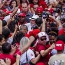 Caravana de Lula recorre ciudades en Minas Gerais