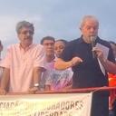 Atingidos pelo golpe, trabalhadores recebem Lula no Rio