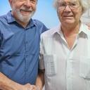Prêmio Nobel da Paz visita Instituto Lula