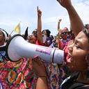 Mulheres se mobilizam para defender direitos sociais e trabalhistas