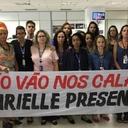 Jornalistas da EBC protestam contra censura ao caso Marielle