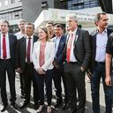 Nove governadores protestam contra a prisão de Lula em Curitiba
