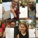 Apoiadores escrevem cartas a Lula durante ato: 'Ele roubou meu coração'