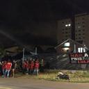 Integrantes do acampamento Lula Livre são agredidos