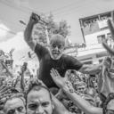 Sindicalistas dos EUA fazem protesto contra prisão de Lula