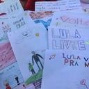 Educação, artes e futebol no acampamento Lula Livre