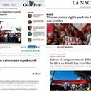 Imprensa internacional repercute ataque a Vigília Lula Livre