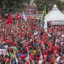 Lula agradece o movimento sindical por 1º de Maio unificado