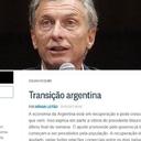 Feijoó: Para nossa imprensa, Argentina de Macri era exemplo