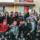 Moradores de Curitiba participam de ação em apoio à Vigília